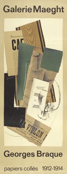 Galerie Maeght, Georges Braque, Papiers collés