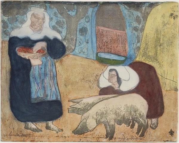 Femmes au porcs (Women with Pigs)