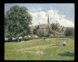 The House of the Deaf Woman and the Belfry at Eragny (La Maison de la Sourde et Le Clocher d'Eragny)