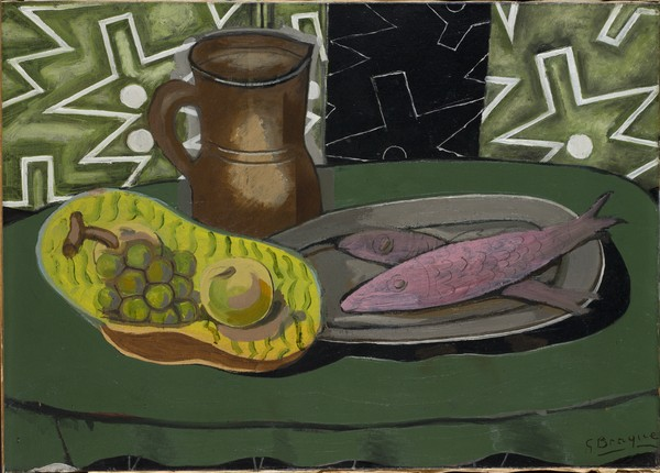 Still Life with Pink Fish