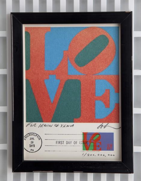 """Love"" postcard"