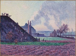 A Slag Heap Near Marchiennes