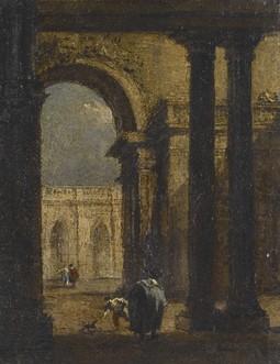 Capriccio: A Palace Courtyard