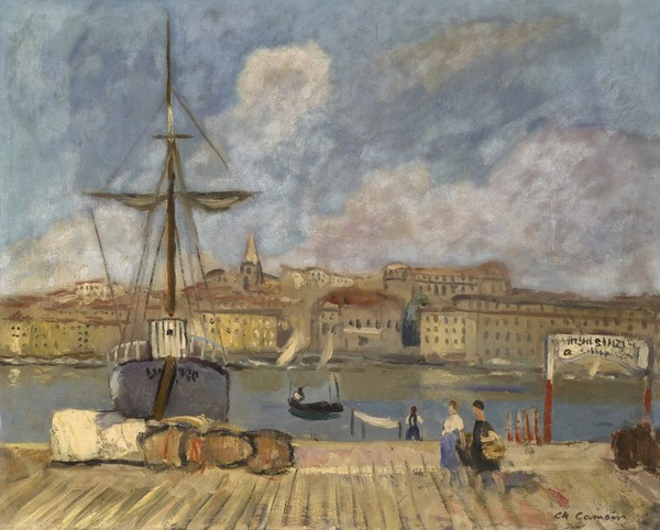 View of Marseilles from the Pier