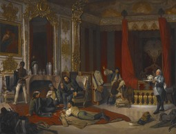 A Military Bivouac in a Royal Palace (Die Militärische Einquartierung in einem Hochfürstlichen Prunkschloss)