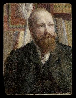 Portrait of Alfred Verhaeren