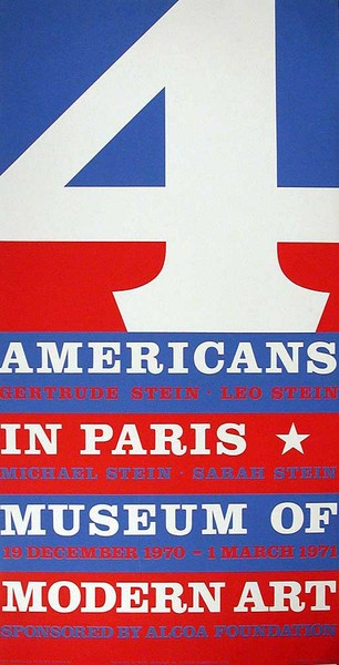 4 Americans in Paris, Museum of Modern Art