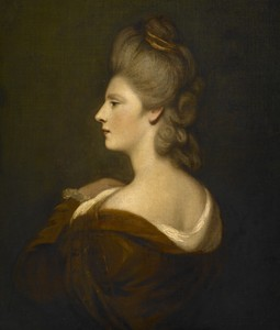 Portrait of Mrs. Charles James Fox