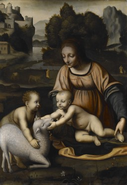Madonna and Child with St. John the Baptist and the Lamb