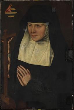 Abbess at Prayer