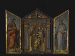 Madonna and Child with St. John the Baptist and St. Francis