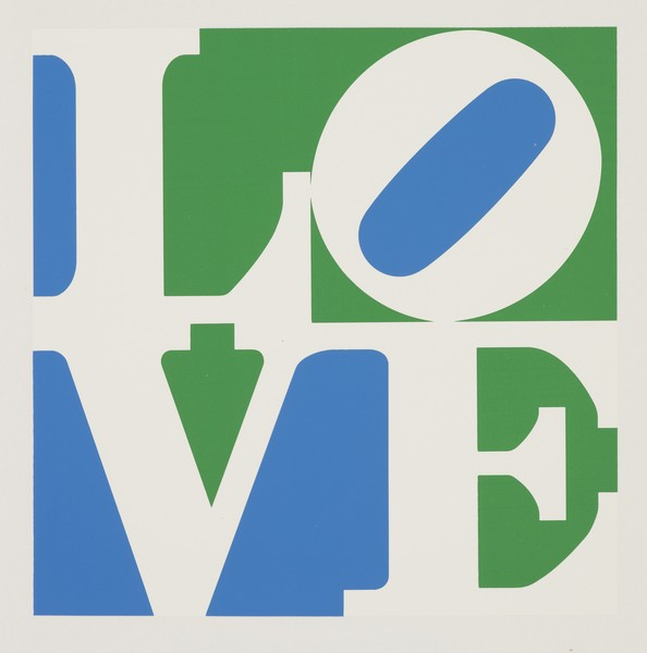 TRILOVE: 3 Poems by Robert Indiana